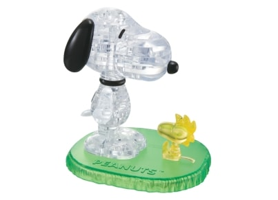 Crystal Puzzle Snoopy & Woodstock 3D