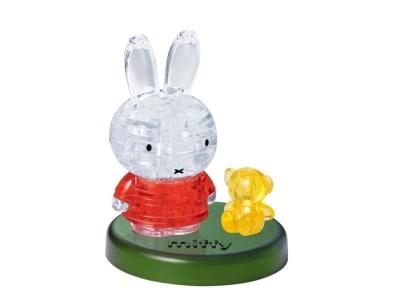 Crystal Puzzle Miffy & Bear 3D