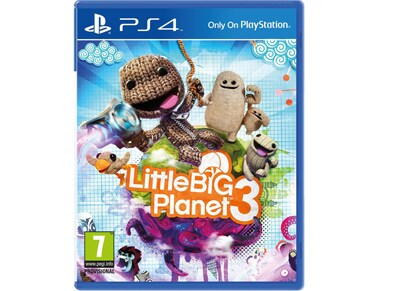 Little Big Planet 3 Extras Edition - PS4 Game