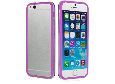 Θήκη iPhone 6/6S - SBS Bumper Cover TEBUMPERIP647P Ροζ apple   αξεσουάρ iphone   θήκες