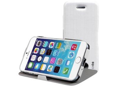 Θήκη iPhone 6/6S - SBS Book Stand Case TEBOOKSTIP647WP Λευκό apple   αξεσουάρ iphone   θήκες
