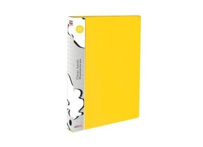 Ντοσιέ Παρουσίασης 20 Θέσεων Α4 Κίτρινο TYPOTRUST