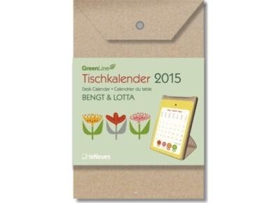 GreenDeskCalendar Bengt & Lotta 2015