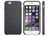 Θήκη iPhone 6/6S - Apple Silicone Case MGQF2ZM/A Μαύρο