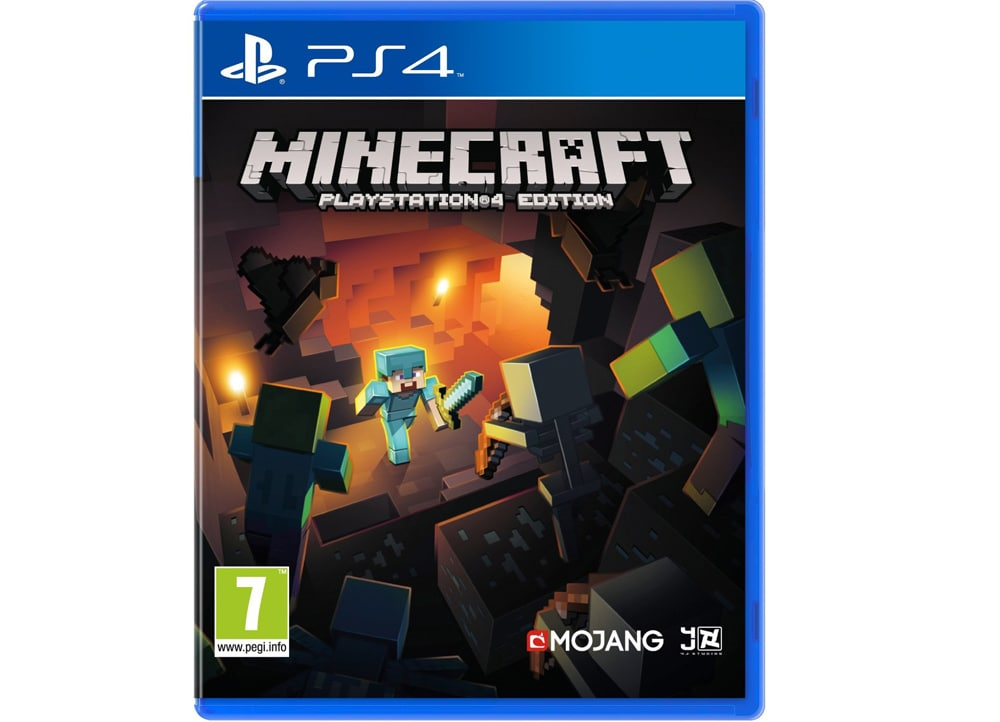 What Are The Ps4 Games : Minecraft ps game public