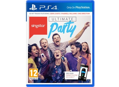 Singstar Ultimate Party - PS4 Game gaming   παιχνίδια ανά κονσόλα   ps4