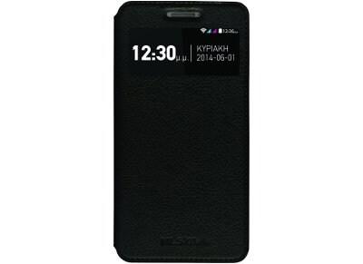Θήκη MLS iQtalk S8  Smart Cover Μαύρο 11 CC 520 040