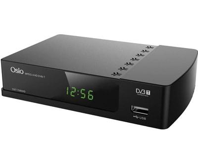 Αποκωδικοποιητής Osio OST-7080HD τηλεοράσεις   αποκωδικοποιητές mpeg4