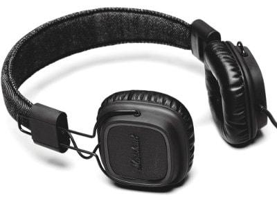 Ακουστικά Κεφαλής Marshall Major Pitch Black Μαύρο