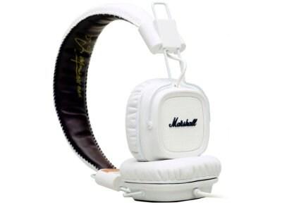 Ακουστικά Κεφαλής Marshall Major Λευκό