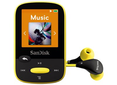 MP3 SanDisk Clip Sport 4GB Kίτρινο