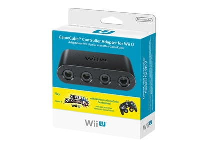 Super Smash GameCube Controller Adapter - Wii U
