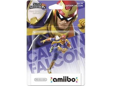 Φιγούρα Captain Falcon - Nintendo Amiibo Super Smash Bros gaming   αξεσουάρ κονσολών   ps3    φιγούρες παιχνιδιού