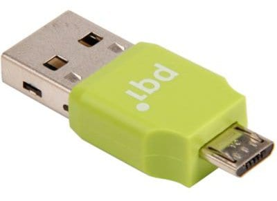 Αντάπτορας PQI USB σε Micro USB Connect 203 0014R014J Πράσινο