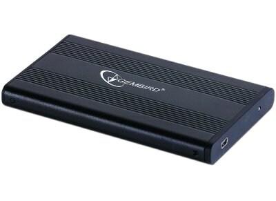 """Θήκη δίσκου Gembird 2.5"""" EE2-U2S-5 USB 2.0 Μαύρο"""