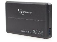 """Θήκη δίσκου Gembird 2.5"""" EE2-U3S-2 USB 3.0 Μαύρο"""