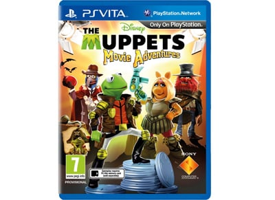 The Muppets Movie Adventures - PS Vita Game gaming   παιχνίδια ανά κονσόλα   ps vita