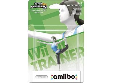 Φιγούρα Wii Fit Trainer - Nintendo Amiibo Super Smash Bros gaming   αξεσουάρ κονσολών   ps3    φιγούρες παιχνιδιού