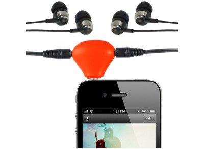 Αντάπτορας Ήχου - ThumbsUp Audio Splitter Stand AUDSPLTSTD