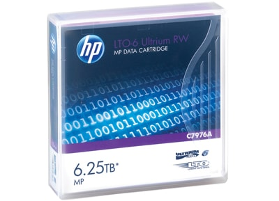 HP LTO-6 Ultrium 6.25TB MP RW Data Cartridge (C7976A) - 1 τεμ - μέσο αποθήκευσης