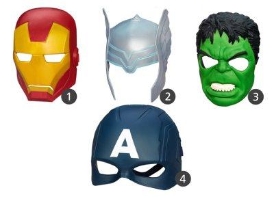 Avengers Role Play Mask (Hasbro B1808) - 1 τεμάχιο