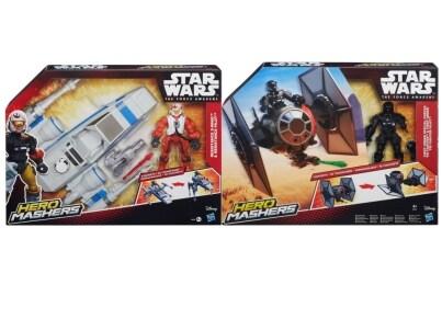 Όχημα και Φιγούρα Star Wars Hero Mashers Ε7 Hasbro - 1 τεμάχιο (B3701)