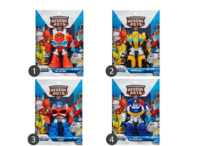 Φιγούρα Transformers Rescue Bots Singles (1 Τεμάχιο)
