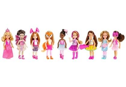 Barbie Μίνι Κούκλα Τσέλσι & Φίλες - 6 Σχέδια - 1 Τεμάχιο