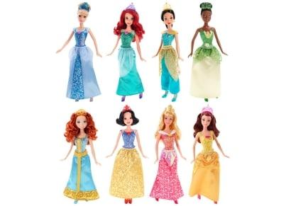 Disney Γκλιτερ Πριγκίπισσες  (6 Σχέδια) (CFB82)