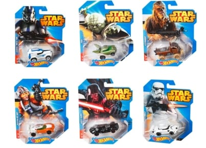 Hot Wheels Star Wars Συλλεκτικά Αυτοκινητάκια - 1 τεμάχιο (CGW35)