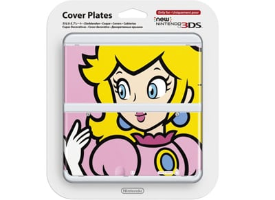 New Nintendo 3DS Coverplate - Peach