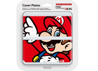 New Nintendo 3DS Coverplate - Super Mario