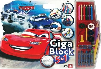 Σετ Ζωγραφικής Giga Block 5σε1 Cars AS 1023-62689