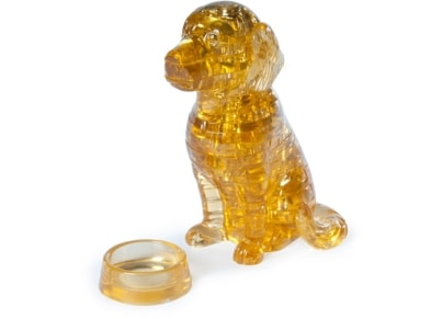 Crystal Puzzle 3D Golden Retriever