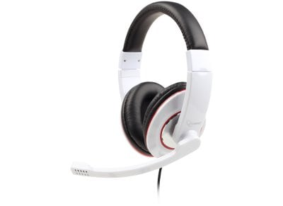 Ακουστικά Κεφαλής Gembird MHS-001-GW Headset Λευκό