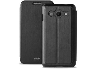 Θήκη Samsung Galaxy Ace 4 - Puro Booklet Wallet Case Μαύρο SGACE4BOOKCBLK