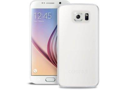 Θήκη Samsung Galaxy S6 - Puro Cover 0.3 Ultra Slim Ημιδιαφανές Λευκό SGS603TR +  τηλεφωνία   tablets   αξεσουάρ κινητών   θήκες