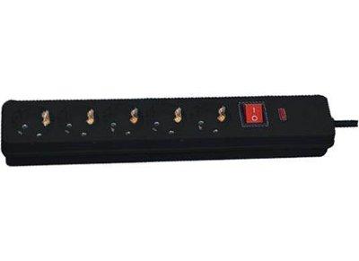 Πολύπριζο Προστασίας 5 Θέσεων Telco KF-BD-05K