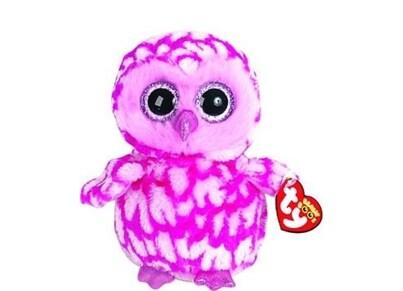 Χνουδωτό Κουκουβάγια TY Beanie Boos Ροζ 15cm (1607-36094)