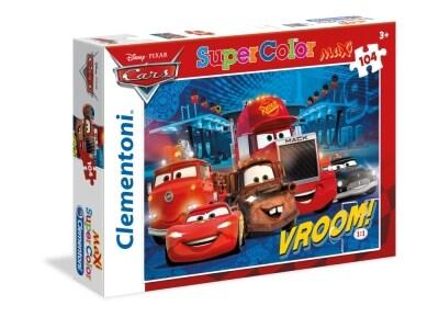 Puzzle Clementoni Super Color Disney: Cars 104 Κομμάτια Maxi (1210-23669)