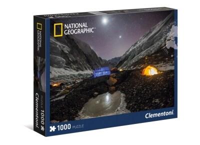 Παζλ Everest Camp National Geographic Clementoni - 1000 Κομμάτια