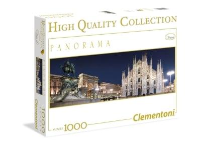 Παζλ Μιλάνο Πανόραμα - High Quality Collection Clementoni - 1000 Κομμάτια