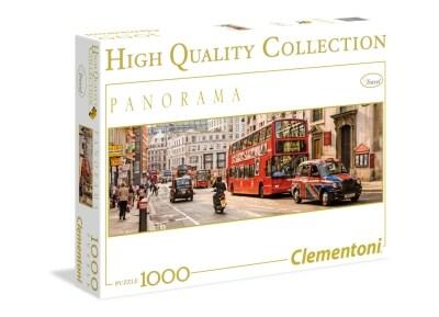 Παζλ Λονδίνο Πανόραμα - High Quality Collection Clementoni - 1000 Κομμάτια