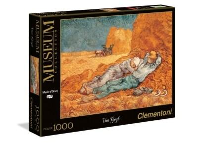 Παζλ Van Gogh Ανάπαυση Museum Collection Clementoni - 1000 Κομμάτια