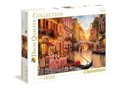 Puzzle Clementoni High Quality Collection: Βενετία 1500 Κομμάτια (1220-31668)