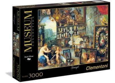 Puzzle Clementoni Museum Collection: Jan Breugel, Η Αίσθηση της Όρασης 3000 κομμάτια (1220-33542)