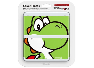 New Nintendo 3DS Coverplate - Yoshi gaming   αξεσουάρ κονσολών   3ds   2ds
