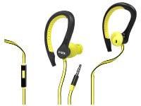 Ακουστικά Αδιάβροχα SBS Runway Flat Sport Kίτρινα