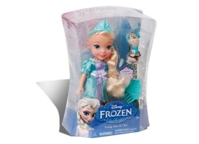 Frozen Μίνι Κούκλα Έλσα 15cm (GPH18483/GR)
