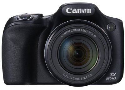 Camera Canon Powershot SX530 HS - Μαύρο